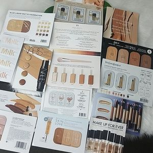 Free with any purchase foundation samples